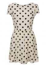 Polka dot dress by Topshop for Nordstrom at Nordstrom