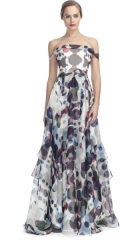 Polka dot gown by Carolina Herrera at Moda Operandi