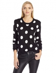 Polka dot sweater by Bcbgeneration at Amazon