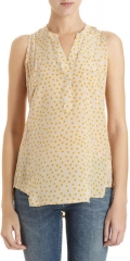 Polka dot top by Madison Marcus at Barneys