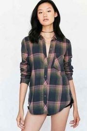 Polly Flannel Shirt at Urban Outfitters
