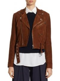 Polo Ralph Lauren - Suede Moto Jacket at Saks Fifth Avenue