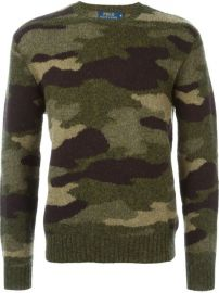 Polo Ralph Lauren Camouflage Crew Neck Sweater  - at Farfetch