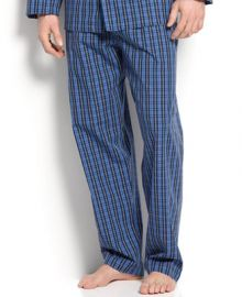 Polo Ralph Lauren Mens Harwich Plaid Pajama Pants - Pajamas Robes and Slippers - Men - Macys at Macys