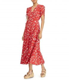 Polo Ralph Lauren Printed Crepe Dress at Dillards