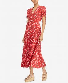 Polo Ralph Lauren Printed Dress at Macys