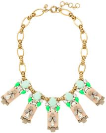 Polynesian Stone Necklace at J. Crew