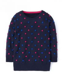 Pom pom sweater at Boden