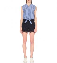 Poma Playsuit by Sandro at Selfridges