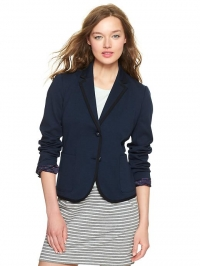 Ponte Academy Blazer in Navy at Gap