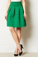 Ponte Bell Skirt at Anthropologie