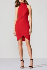 Ponte Red Dress by Bailey 44 at Shoptiques