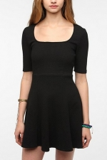 Popcorn ponte knit dress at Urban Outfitters at Urban Outfitters