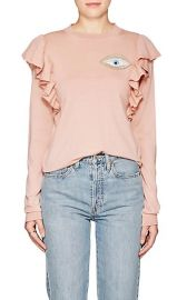 Port Augusta Eye-Embellished Wool Sweater by Vivetta at Barneys