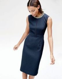 Portfolio dress in Navy at J. Crew