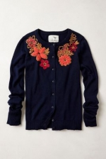 Posey Patch Cardigan at Anthropologie