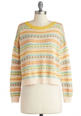 Posy Disposition Sweater at ModCloth