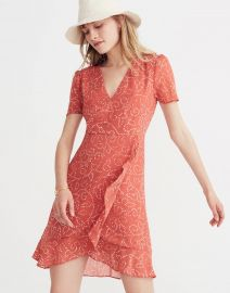 Posy Ruffle Dress in Twisted Vines at Madewell