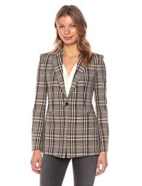 Power Plaid Blazer by Theory at Amazon