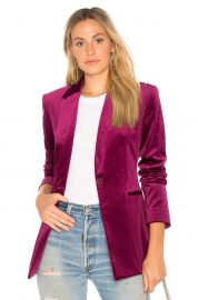 Power Velvet Blazer by Theory at Revolve