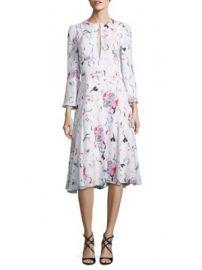 Prabal Gurung - Silk Floral-Print Dress at Saks Fifth Avenue
