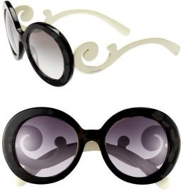 Prada Baroque Sunglasses at Saks Fifth Avenue