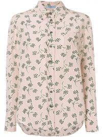 Prada Printed Button Down Shirt at Farfetch