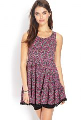 Prairie Floral Smock Dress at Forever 21