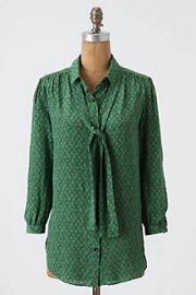 Precious Particulars Blouse at Anthropologie
