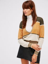 Pree People Gold Dust Pullover at Free People