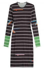 Preen Striped Jersey Dress at Stylebop