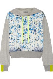 Preen by Thorton Bregazzi Floral Hoodie at The Outnet