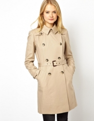 Premium Trench at Asos