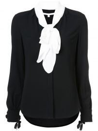 Presley tie neck blouse from Veronica Beard at Farfetch