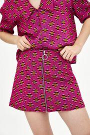Print Mini Skirt by Zara at Zara