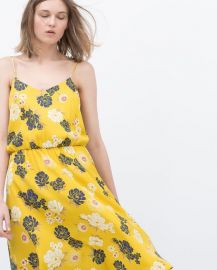 Printed Dress at Zara