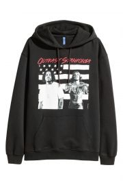 Printed Hooded Sweatshirt at H&M