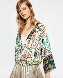 Printed Kimono at Zara