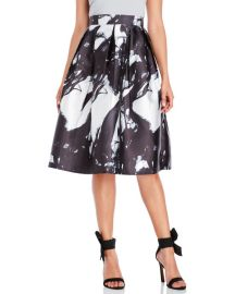 Printed Midi Skirt at Century 21