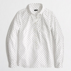 Printed Popover Shirt at J. Crew Factory