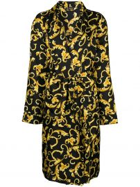 Printed Robe by Versace at Farfetch