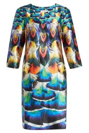 Printed Silk Dress Mary Katrantzou at Stylebop