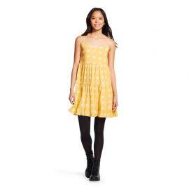 Printed Tiered Babydoll Dress at Target