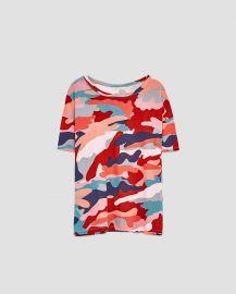 Printed Top by Zara at Zara