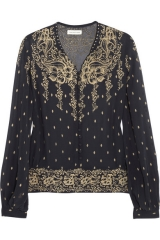 Printed blouse by Etoile Isabel Marant at Net A Porter
