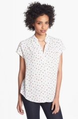 Printed blouse by Pleione at Nordstrom
