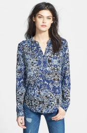 Printed blouse by Velvet by Graham and Spencer at Nordstrom
