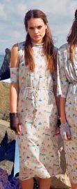 Printed dress at TBA