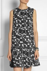 Printed dress by Proenza Schouler at Net A Porter