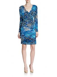 Printed jersey dress at Saks Off 5th